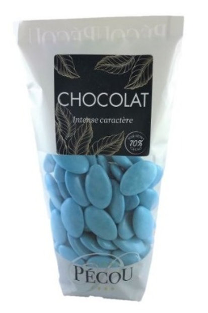 Dragées Chocolat Turquoise 250g