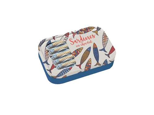 Boîte de 12 sardines Chocolat au LAIT 120g