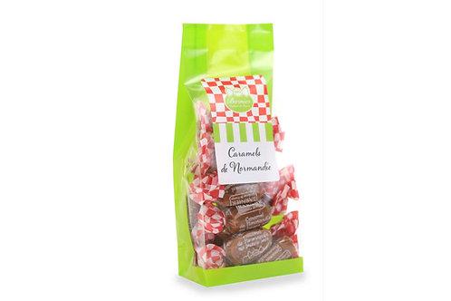Sachet  de caramels au Lait beurre salé décor Normandie 100g