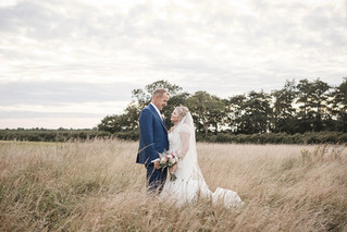 Classic and natural white blush wedding at Pentney Abbey