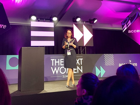 CEO Marie-Elisabeth Rusling speaks at The Next Web conference