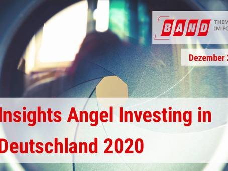 Insight into Angel Investing in Germany - BAND's newly released report