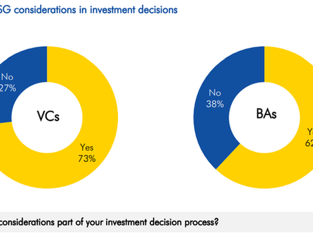 EIF Study: How important is sustainability for investments made by Business Angels and VCs?