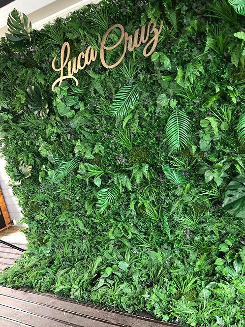 DIY Hire of Jungle Wall - Grass wall