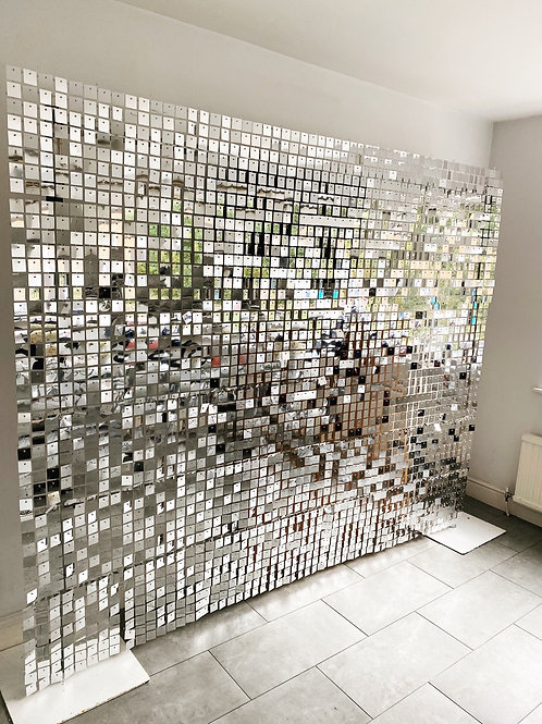 Silver Shimmer wall