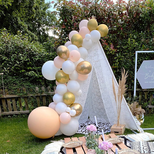 Hire 8ft Lace Teepee