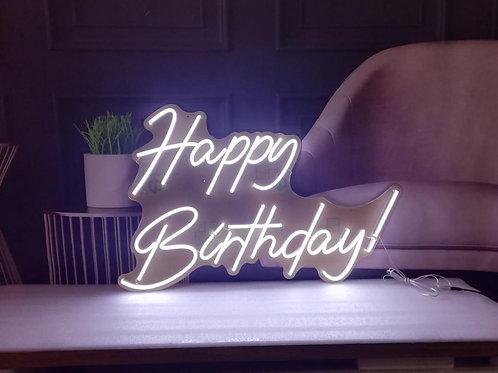 Hire of Happy Birthday Neon Light