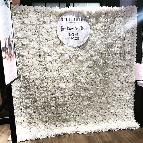 FOR SALE White 'Maisy' Flower Wall brand new
