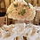 Thumbnail: Hire of silk flower balls table centre pieces