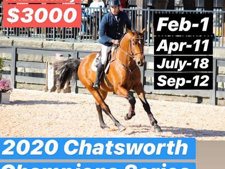2020 Chatsworth Champions Series