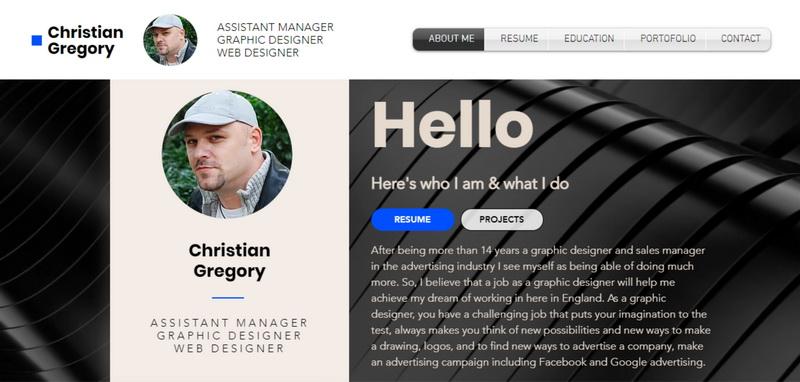 Christian Gregory Website