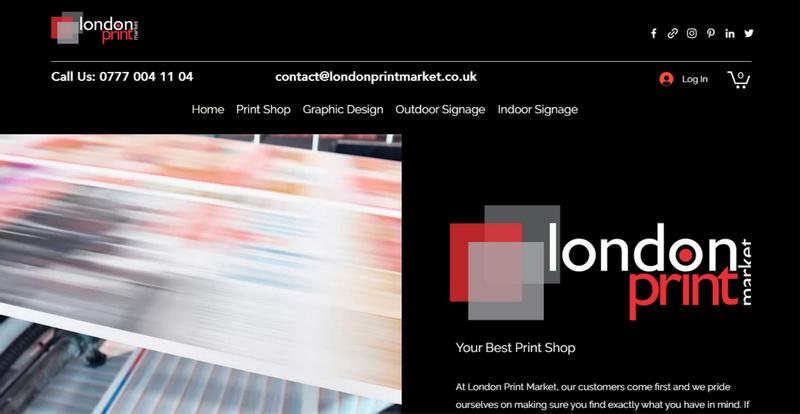 London Print Market Website