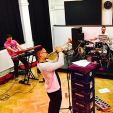 Shez Raja rehearsal 2017