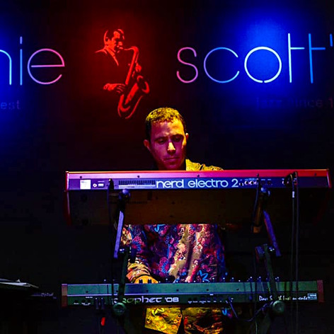 Ronnie Scotts with the Shez Raja Collective.jpg