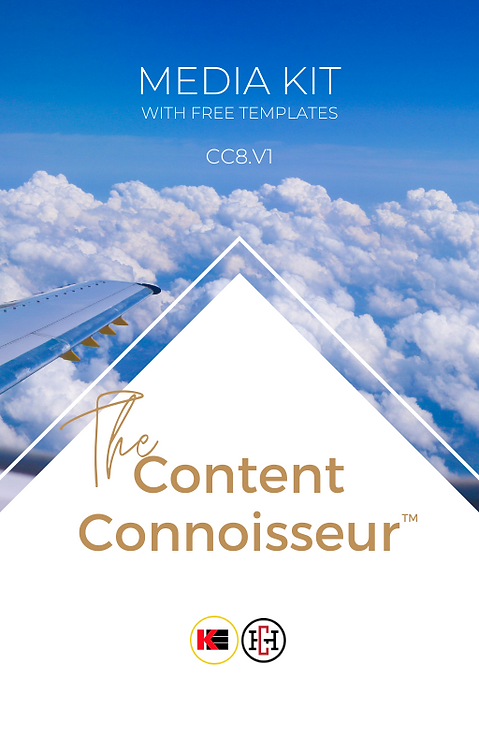 Media Kits w/ Free Templates CC8.V1