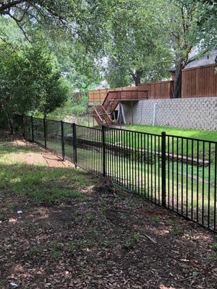 4 Ft Custom Ornamental Iron Fence