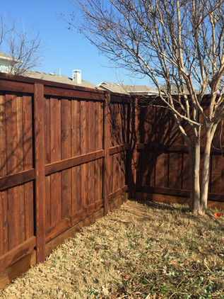 Dark Brown, 6 Ft Board on Board Fence with Topcap, Trim, Rotboard & Postmasters