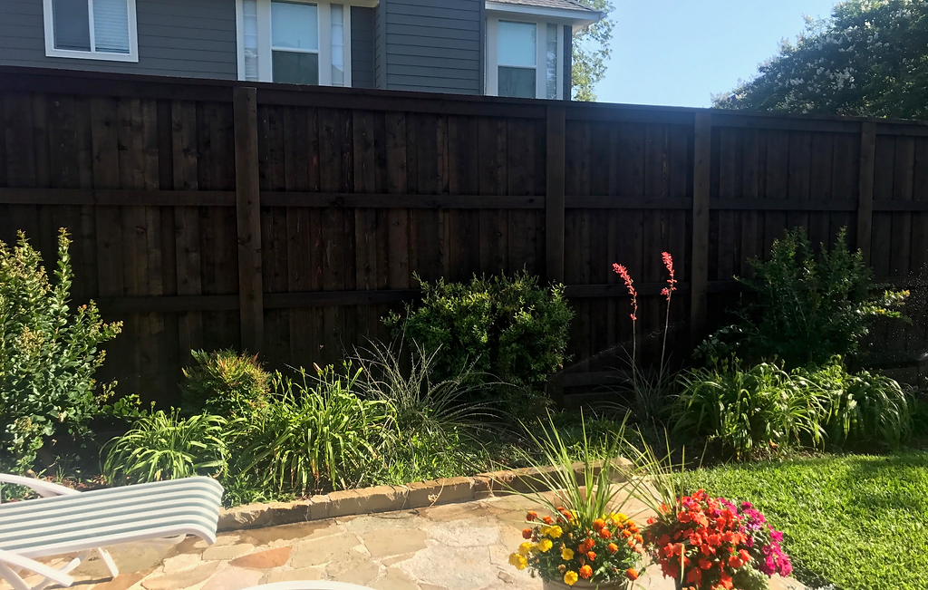 Backyard Fencing