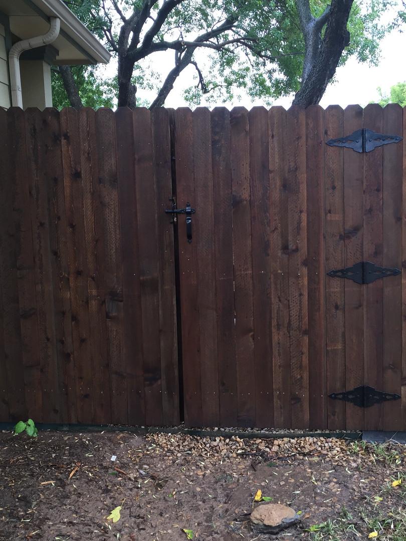 Side by Side Walk Gate