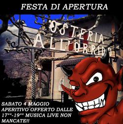 FESTA DI APERTURA