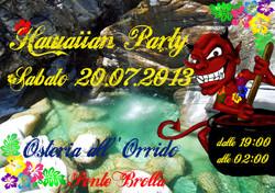 hawaiian party!!
