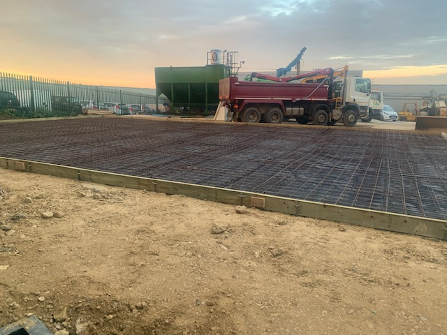 Preparation for concrete