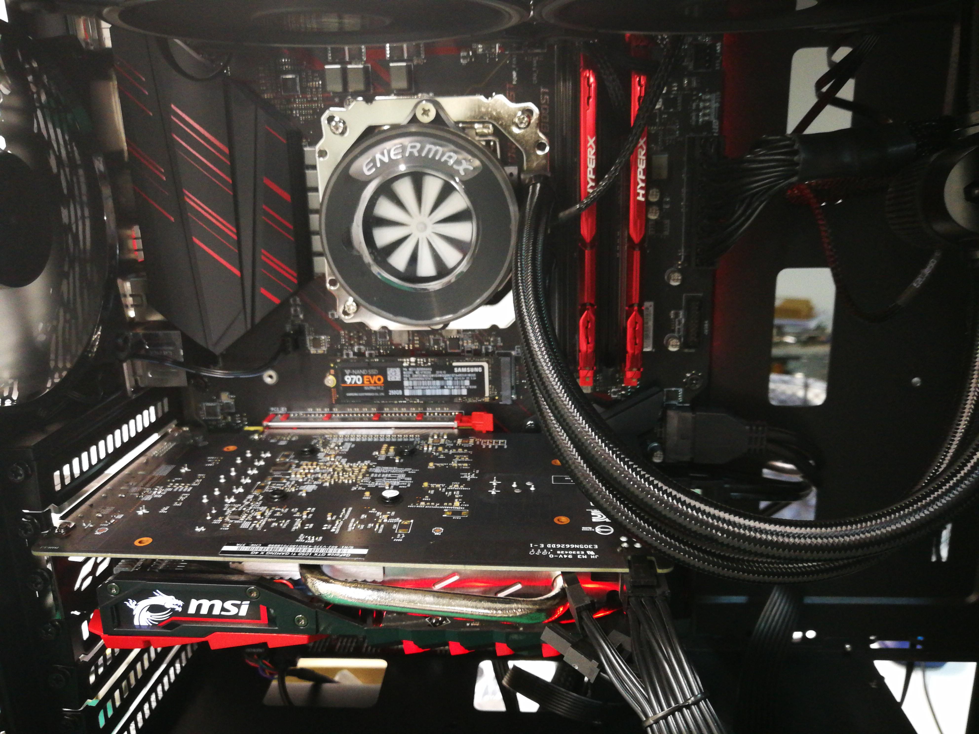 Inteior CPU Gaming