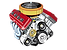 Engine Size Icon