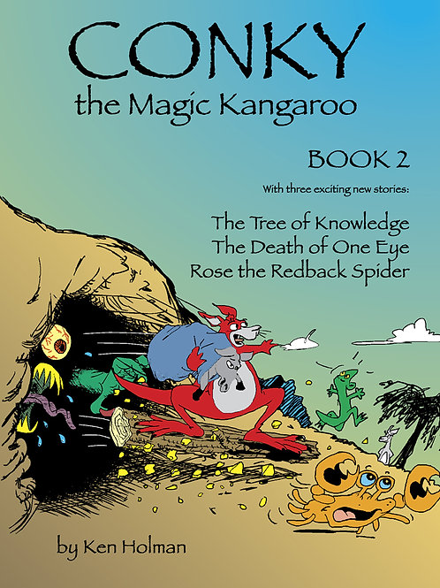 Conky The Magic Kangaroo - Book 2