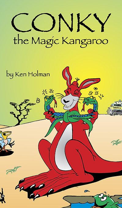 Conky The Magic Kangaroo - Book 1