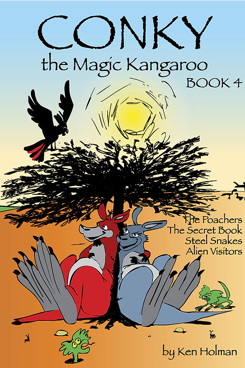 Conky The Magic Kangaroo - Book 4