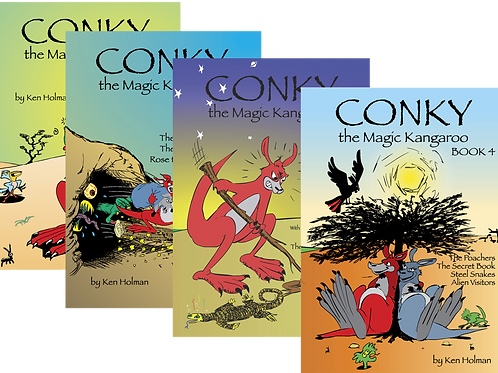 Combination of any 4 Conky Books