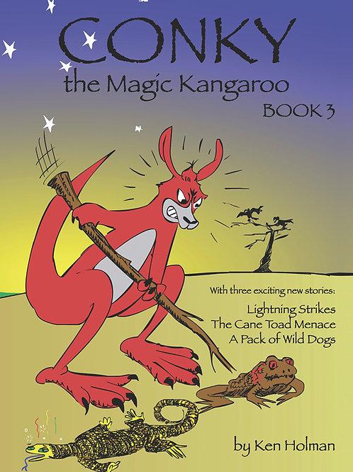 Conky The Magic Kangaroo - Book 3