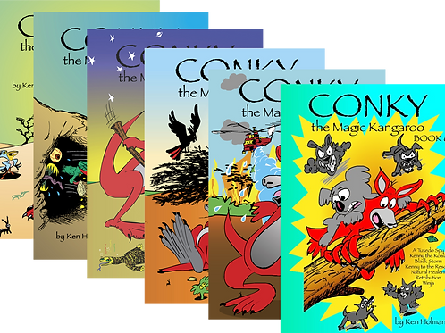 Any combination of 6 Conky Books
