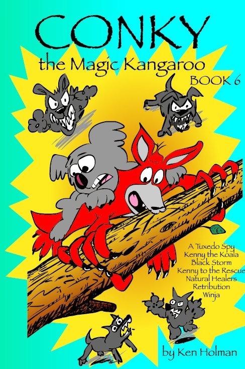 Conky The Magic Kangaroo - Book 6