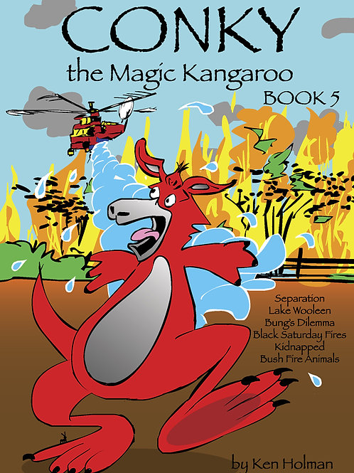 Conky The Magic Kangaroo - Book 5