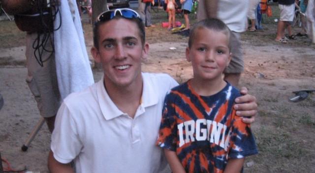 Coach Matt & Coach Parker  End of season picnic  Summer 2007