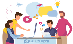 Our Top 6 business pandemic survival tips - Happy Hippo Media - Digital Marketing Sydney