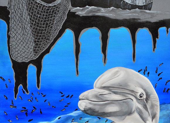 Marine fauna against human predators
