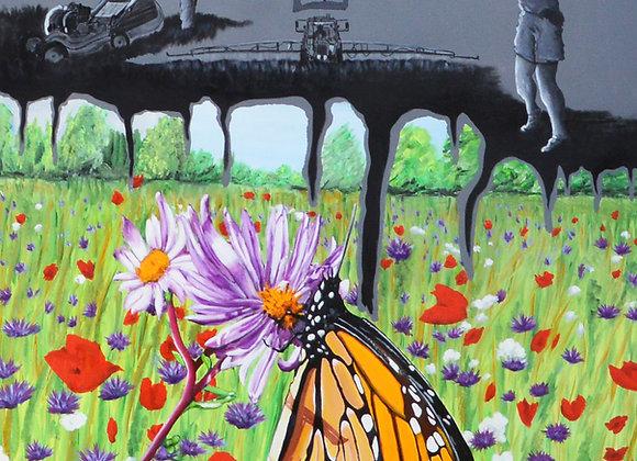 Butterflies against the destruction of ecosystems