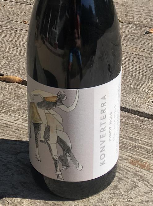 Konverterra wine bottle