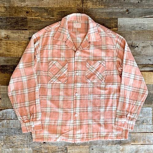 PENNEY'S 60'sチェック オープンシャツ
