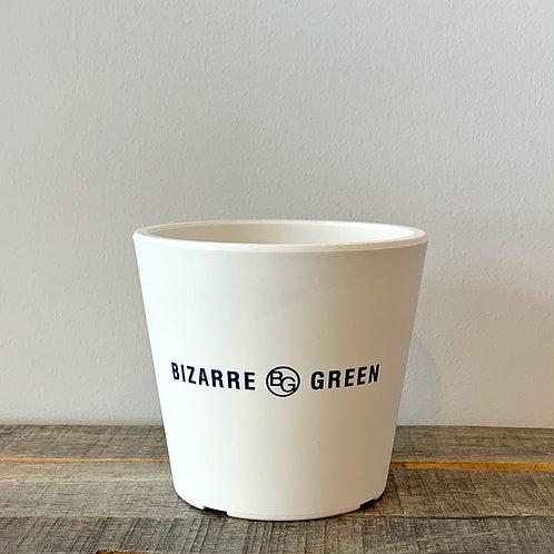 BG オリジナル鉢 Type1-WH(古紙再生素材×樹脂)