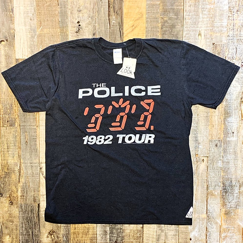"""THRIFTY LOOK Tシャツ """"THE POLICE"""""""