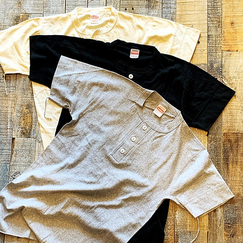 Healthknit #906S ヘンリーネックTシャツ