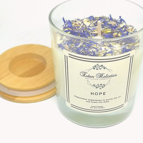 Hope Aromatherapy Scented Soy Wax Candle