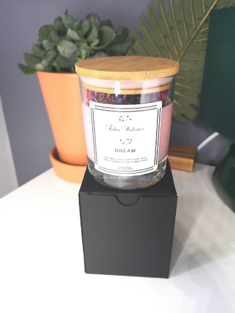 Dream Aromatherapy Scented Soy Wax Candle