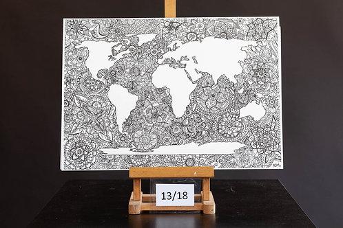Mandala Map - Ashleigh Mialkowski