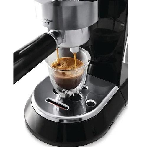 Delonghi Dedica Pump Espresso Coffee Maker with Milk Frother.