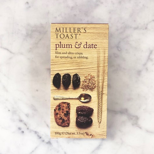 Millers Damsels Fig & Sultana Toasts - 100g